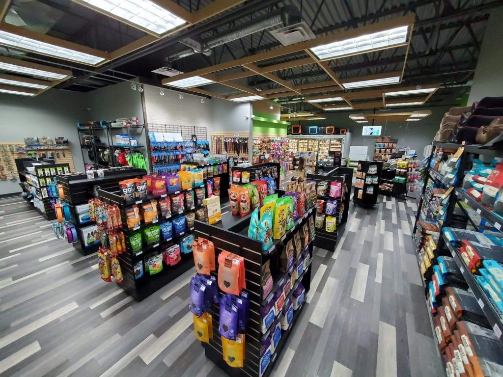 Tailblazers pet food store in Red Deer Alberta